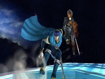 Marth and Dark Link