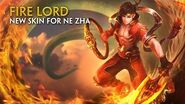 SMITE - New Skin for Ne Zha - Fire Lord