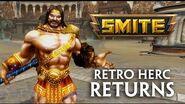 SMITE - Retro Hercules Skin & Kevin Sorbo Voicepack!