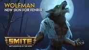 SMITE - New Skin for Fenrir - Wolf Man