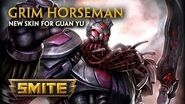 SMITE - New Skin for Guan Yu - Grim Horseman