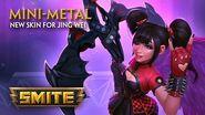 SMITE - New Skin for Jing Wei - Mini-Metal