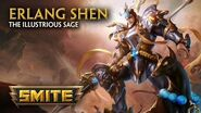 SMITE - God Reveal - Erlang Shen, the Illustrious Sage