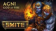 SMITE - God Reveal - Agni, God of Fire