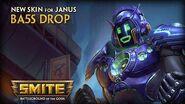 SMITE New Skin for Janus - Ba5s Drop