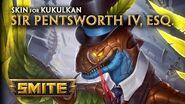 SMITE - New Skin for Kukulkan - Sir Pentsworth IV, Esq.