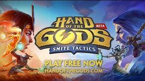 Hand of the Gods SMITE Tactics - Reveal Trailer-0
