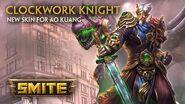 SMITE - New Skin for Ao Kuang - Clockwork Knight
