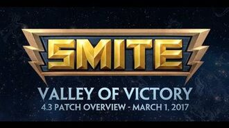 SMITE 4.3 Patch Overview - Valley of Victory (March 1, 2017)