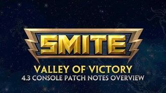 SMITE - 4.3 Console Patch Overview - Valley of Victory