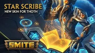 SMITE - New Skin for Thoth - Star Scribe