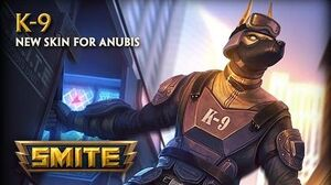 SMITE - New Skin for Anubis - K-9
