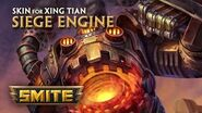 SMITE - New Skin for Xing Tian - Siege Engine