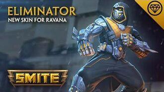 SMITE - New Skin for Ravana - Eliminator