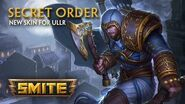 SMITE - New Skin for Ullr - Secret Order