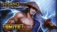 SMITE - God Reveal - Susano, God of the Summer Storm