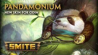 SMITE - New Skin for Odin - Pandamonium