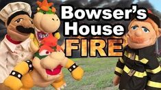 SML Movie Bowser's House Fire!