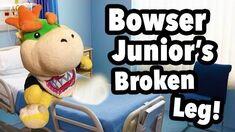 SML Movie Bowser Junior's Broken Leg!