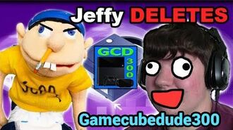 SML Jeffy DELETES Gamecubedude300s Channel!! NO MORE REACTIONS. RIP 100K SUBS