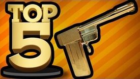 BEST VIDEO GAME WEAPONS