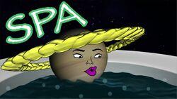 Jupiter Goes To A Spa