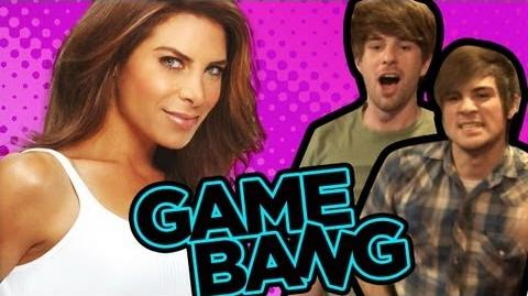 ANTHONY GOES SHIRTLESS WITH JILLIAN MICHAELS (Game Bang)