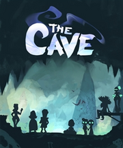The cave video game cover