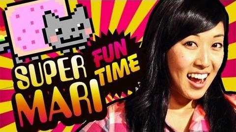 NYAN CAT TAKES OVER (Super Mari Fun Time)