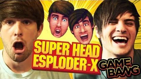 ESPLODIN' SOME HEAD!!!! (Smosh Gamebang)