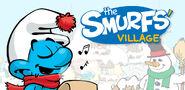 Harmony Smurf Christmas Banner SV 2016