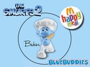 The Smurfs 2 happy meal baker