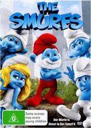 Smurfs Movie DVD Region 4