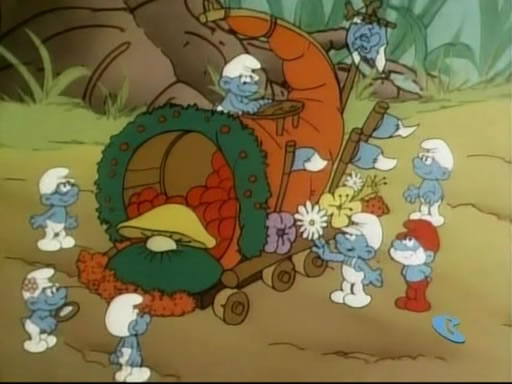 File:A Float Full of Smurfs Parade Float.jpg