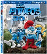 Los Pitufos Blu-Ray 3D