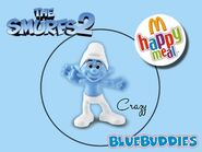 The Smurfs 2 happy meal crazy