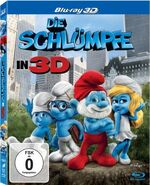 Die Schlumpfe Blu-ray 3D cover