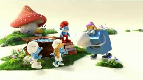 McDonald's Happy Meal Commercial - The Smurfs (German)