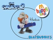 The Smurfs 2 happy meal hackus
