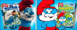 Smurfs Movie Cereal