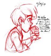 Josten Trivia Concept Sketches 3