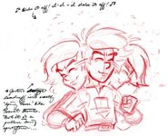 Josten Trivia Concept Sketches 2