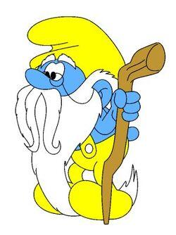 Grandpa Smurf Vic George