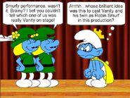 Two Robin Smurfs