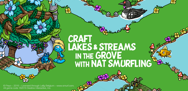 File:Craft Lakes & Streams in the Grove with Nat Smurfling!.png