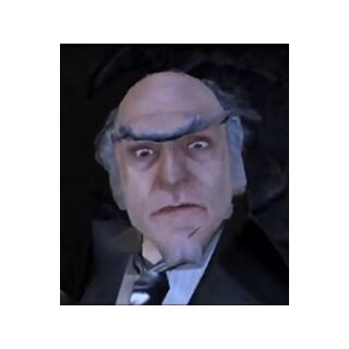 Count Olaf in the video game