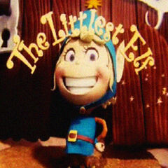 The Littlest Elf as he appears in the opening credits of his