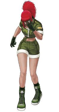 Orochi Leona '98UM
