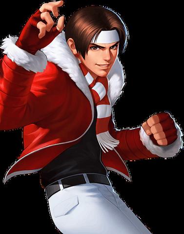 File:KOF 98 UM OL-Christmas Kyo.png