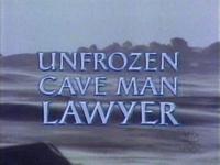 Unfrozen Caveman Lawyer